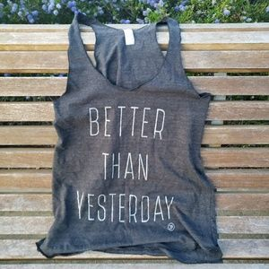 American Apparel 'Better Than Yesterday' Tank Top